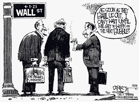 Wall Street Plotting Their Next Bubble