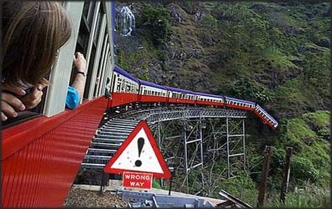 USA Stock Train Crash