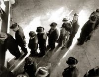 Unemployment Line, January 1938 (flipped)