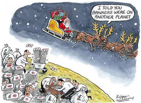 Bankers On Another Planet