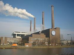 Volkswagen Factory in Wolfsburg, Germany