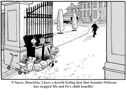 Osbourne Flirts With Disaster