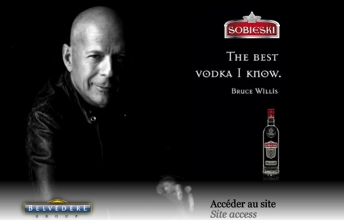 Bruce Willis, shareholder of Belvedere