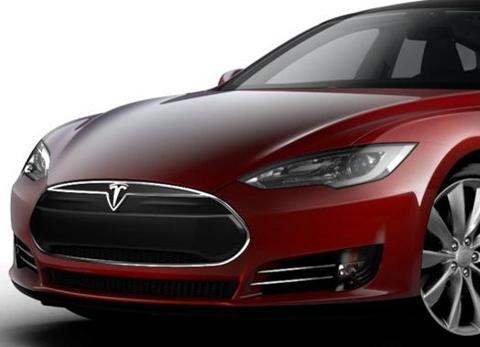 Tesla Model S Beta Revealed