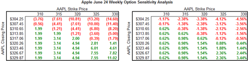 Apple June 24 Sensitivity Analysis