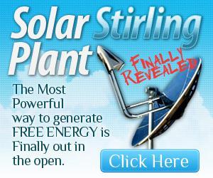 Solar Stirling Plant