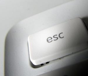 Picture of ESC key