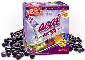 To Go Brands has generated strong energy supplement sales of its Acai Natural Energy Boost, which the company says comes