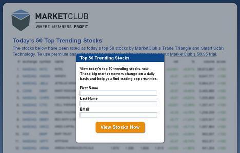 Top Trending Stocks