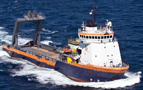 Seacor Marine Anchor Handling Towing Vessel