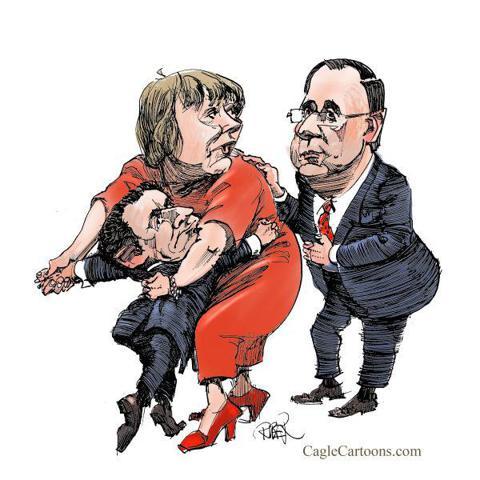 Riber Hansson - Sweden - Merkel get a new dancing partner - English - France, Sarkozy, Hollande, President election France