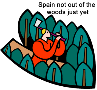 Spain out of the woods
