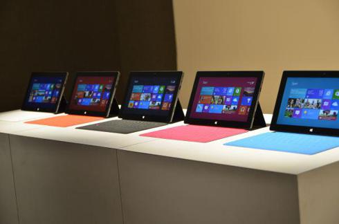 Windows Surface line-up
