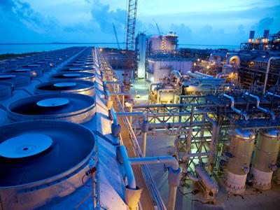 Natural Gas Liquifaction Plant