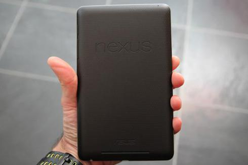 Google Nexus 7 tablet made by Asus