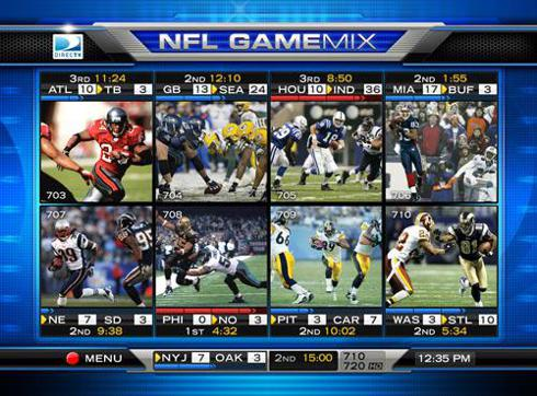 NFL has been a great partner for DIRECTV
