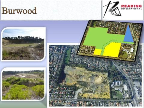 Reading 2012 Annual Meeting Slide 32 - Burwood Square