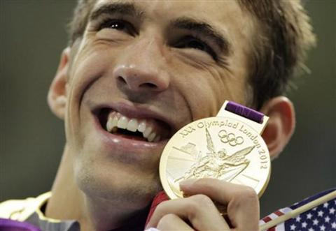 Michael Phelps Gold Apple iPhone 5