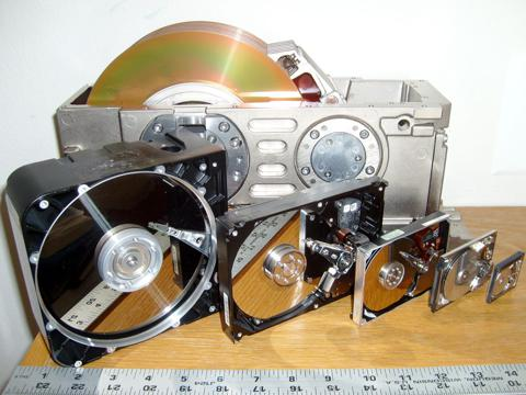 six hdd form factors