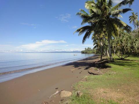 Beachfront in Fiji