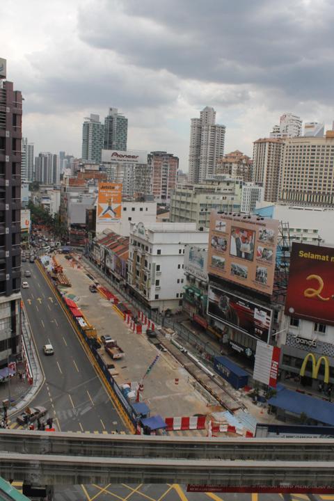 A future Kuala Lumpur Subway Station