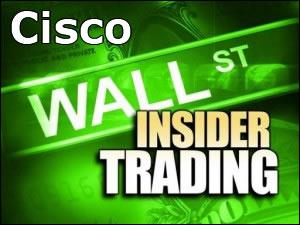 Cisco Wall Street Insider Trading