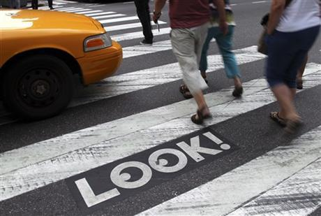 NYC Pedestrian Dangers