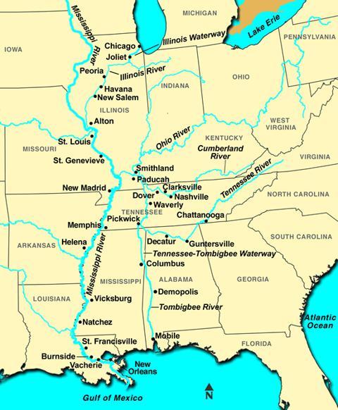 2 Railroad Stocks Set To Profit On Mississippi River