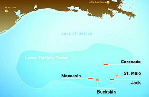Deepwater Oil in Gulf of Mexico