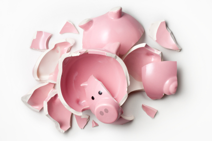 Money And Banking Images Piggy Bank With no Money