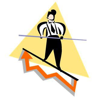 arrows,business,business trends,males,men,metaphors,people,persons,risks,tightrope walkers,tightropes,trends