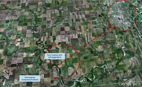 Aerial view of Austex