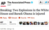 AP fake terror tweet