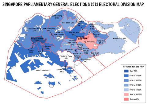 Map of the PAP