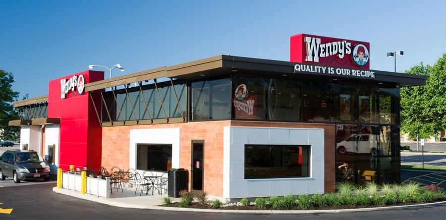 click to enlarge Wendys Building