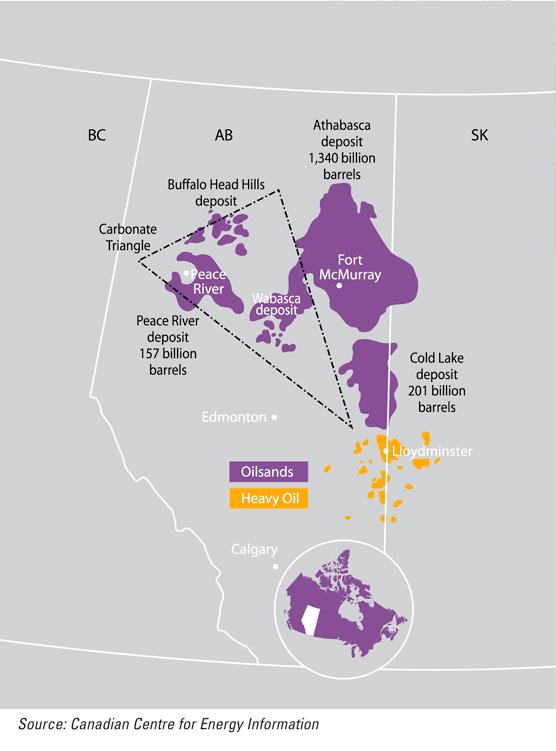 Suncor Oil Sands Map Well as Suncor 39 s Oil Sands