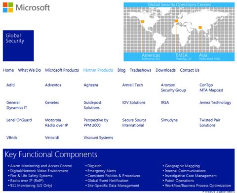Microsoft GSOC Partners