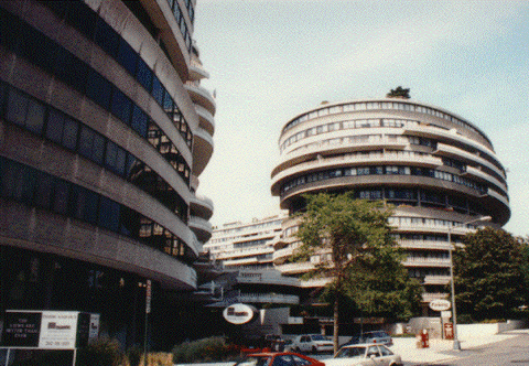 The legendary Watergate Hotel in Washington