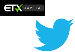 trade Twitter, trade Twitter stock, Twitter greymarket, Twitter valuation, Twitter broker, ETX, ETX Capital