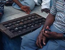 Mancala bead allocation game, Wikipedia.org