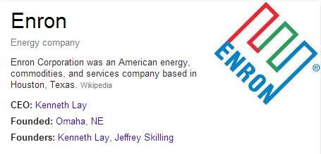 Enron Company Information