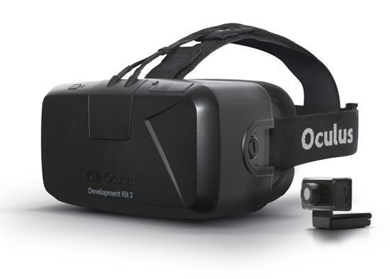 The Oculus Rift Development Kit 2 prototype