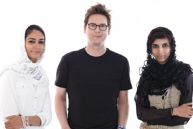 Fereshteh Forough, Biz Stone, and Roya Mahboob
