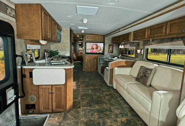 Winnebago Vista Lounge Area