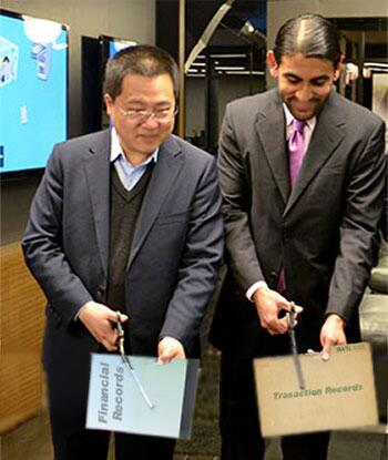 NQ Mobile Omar Khan and Henry Lin Yu Cutting Documents