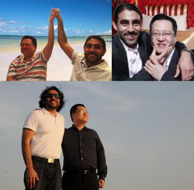 NQ Mobile Omar Khan and Henry Lin Yu Bromance