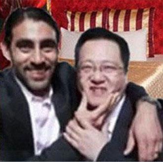 NQ Mobile Omar Khan and Henry Lin Yu Love