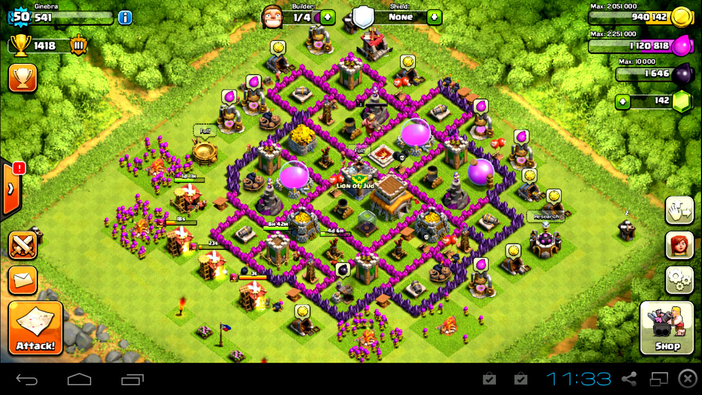 Clash of Clans gems hack online