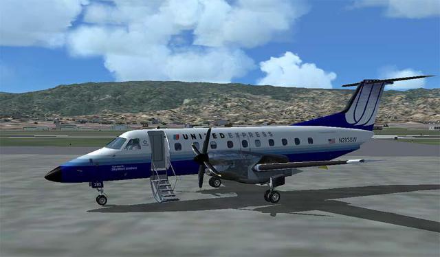 Brasilia 120 turboprop