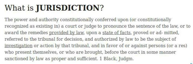 """JurisdictionLearning fundamentals of what we advocate in the group can be well worth the effort to do so. Without that """"crown"""" backing or, an authority given to a man or, women there is no """"power"""" to punish - other than in cases relating to law. And only by Justices, in proper courts of law.Constitutions lack any power, at law. As the """"royals"""" have never ever had that sovereign power. (And the sovereign"""